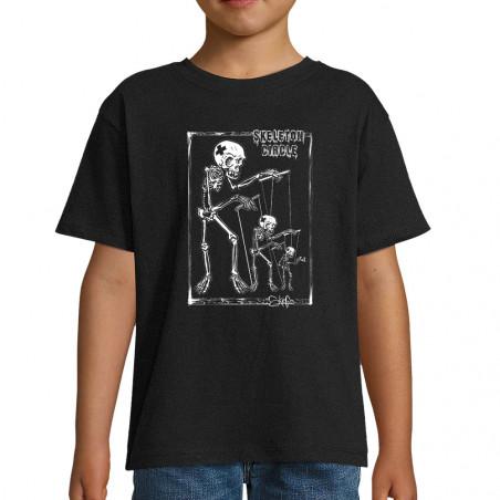 "Tee-shirt enfant ""Skeleton..."