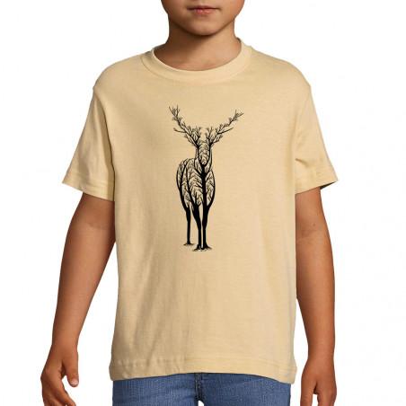 """Tee-shirt enfant """"Deer Trees"""""""