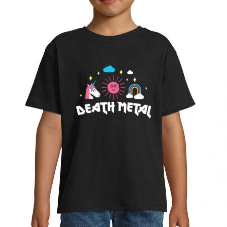 "Tee-shirt enfant ""Death Metal"""