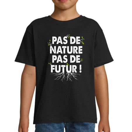 """Tee-shirt enfant """"Pas de..."""
