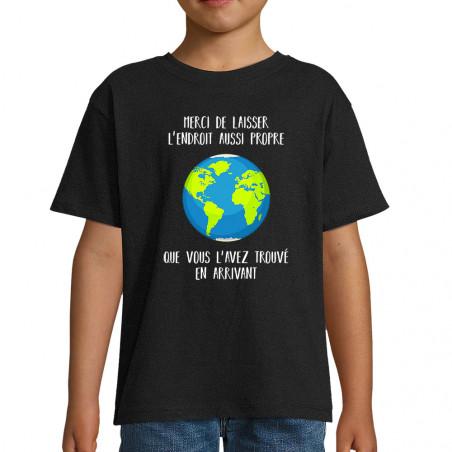 "Tee-shirt enfant ""Merci de..."