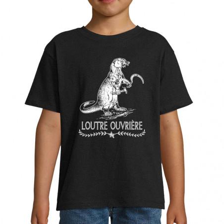 "Tee-shirt enfant ""Loutre..."