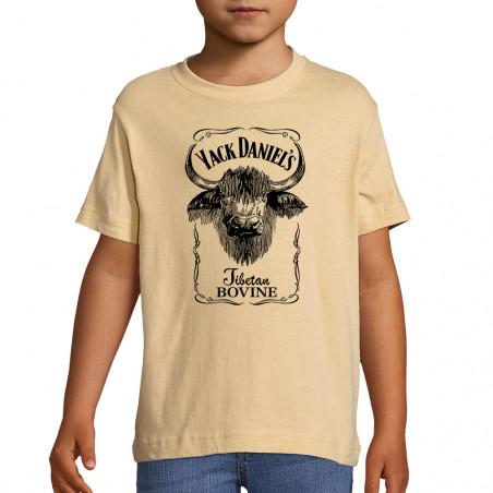 """Tee-shirt enfant """"Yack..."""