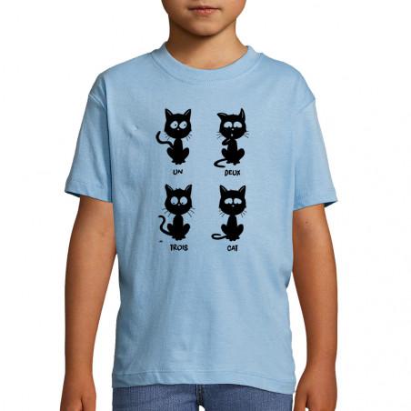 """Tee-shirt enfant """"Un deux..."""