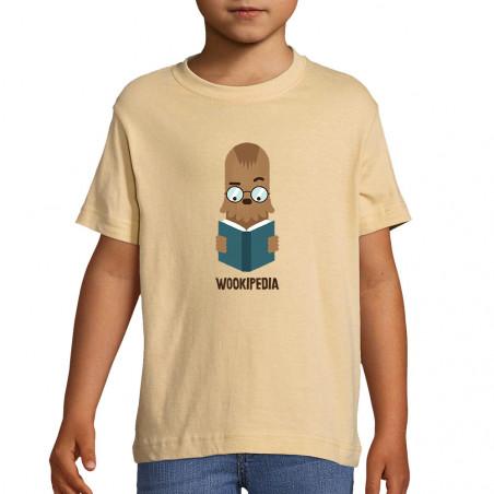 "Tee-shirt enfant ""Wookipedia"""