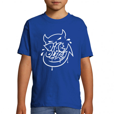"Tee-shirt enfant ""Diabolik..."