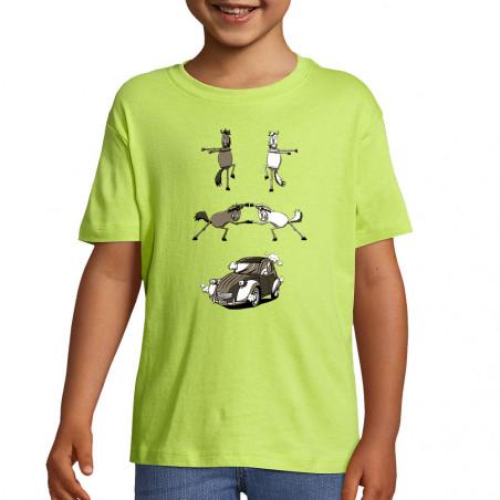 "Tee-shirt enfant ""2cv Fusion"""