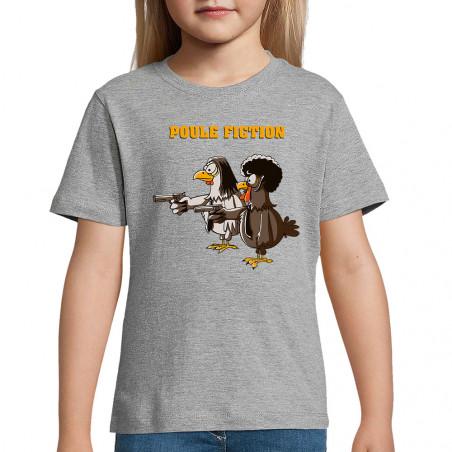 """Tee-shirt enfant """"Poule..."""