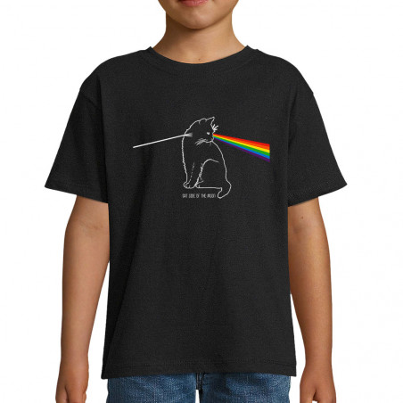 "Tee-shirt enfant ""Cat Side..."