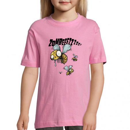 "Tee-shirt enfant ""Zombeeezzzz"""