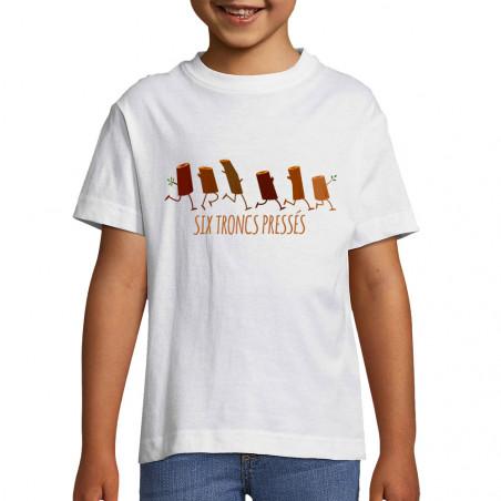 "Tee-shirt enfant ""Six..."