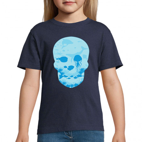 "Tee-shirt enfant ""Sea Skull"""