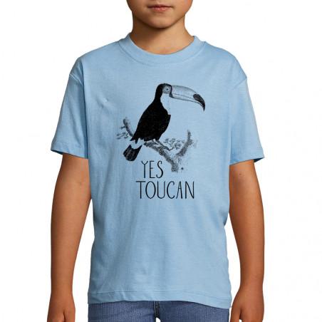 "Tee-shirt enfant ""Yes Toucan """