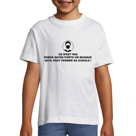 """Tee-shirt enfant """"Ce n'est..."""