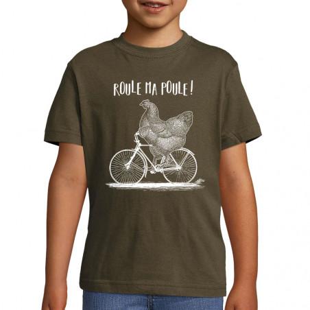 """Tee-shirt enfant """"Roule ma..."""