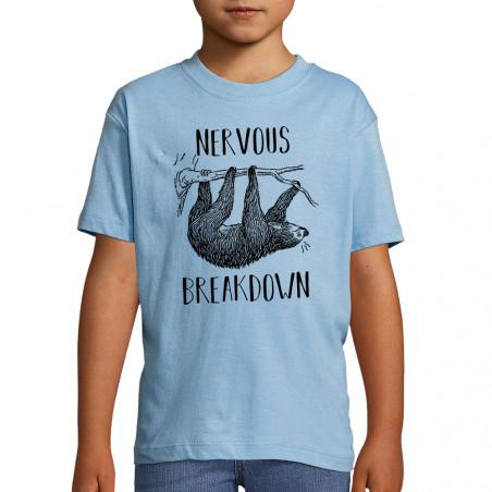 "Tee-shirt enfant ""Nervous..."