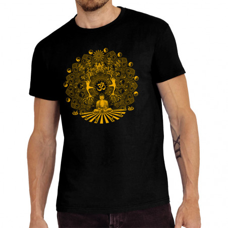 "Tee-shirt homme ""Buddha in..."