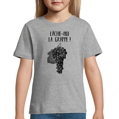 "Tee-shirt enfant ""Lâche-moi..."