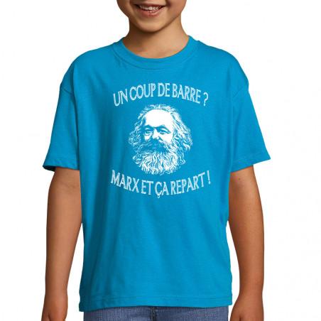 """Tee-shirt enfant """"Marx et..."""
