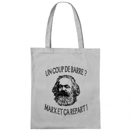 "Sac shopping en toile ""Marx..."