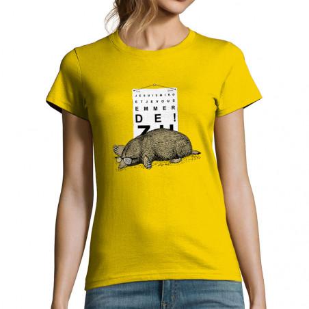 """T-shirt femme """"Je suis miro"""""""