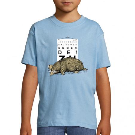 """Tee-shirt enfant """"Je suis..."""