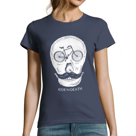 "T-shirt femme ""Ride to Death"""