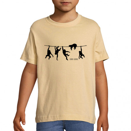 "Tee-shirt enfant ""Stay Cool"""