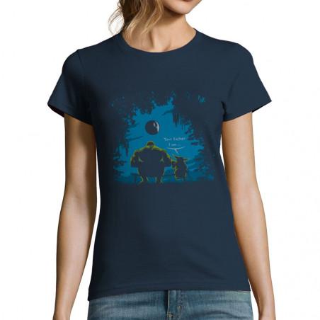 """T-shirt femme """"Hulk Father"""""""