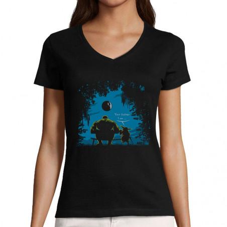 """T-shirt femme col V """"Hulk..."""
