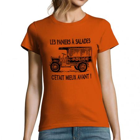 """T-shirt femme """"Les paniers..."""