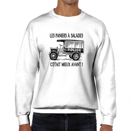 """Sweat homme col rond """"Les..."""