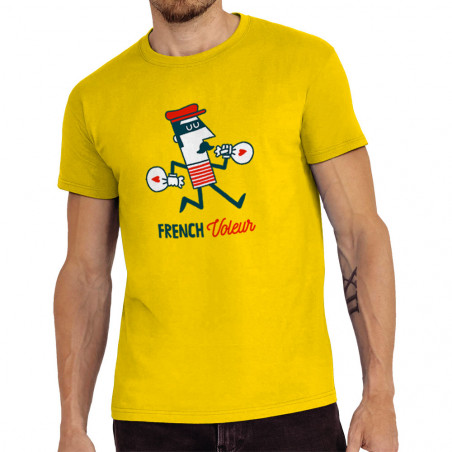 """Tee-shirt homme """"French..."""