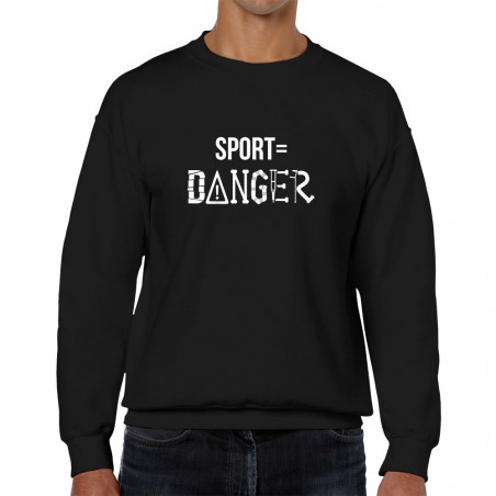 "Sweat homme col rond ""Sport..."
