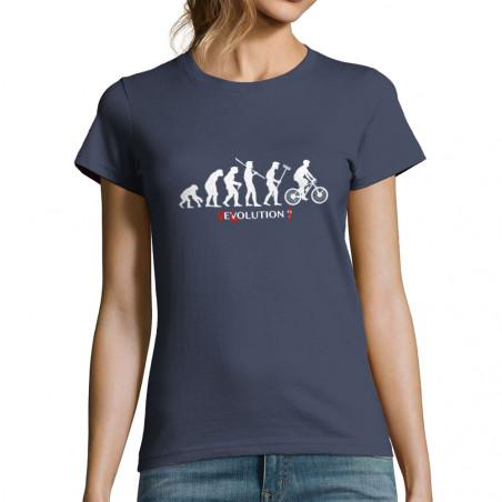 """T-shirt femme """"Vélolution"""""""