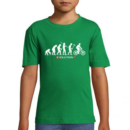 "Tee-shirt enfant ""Vélolution"""