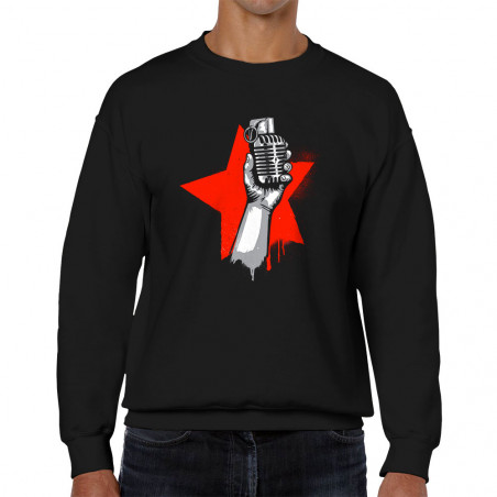 """Sweat homme col rond """"Resist"""""""