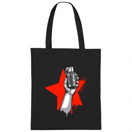 "Sac shopping en toile ""Resist"""