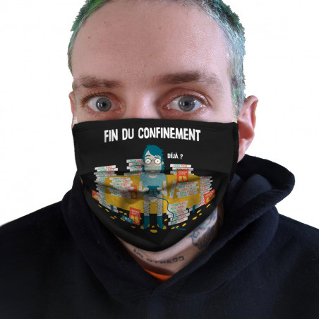 "Masque en tissu ""Déjà"""