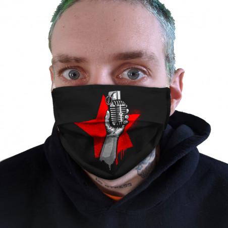 """Masque en tissu """"Resist"""""""