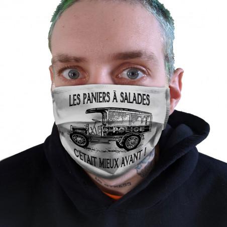 """Masque en tissu """"Les..."""