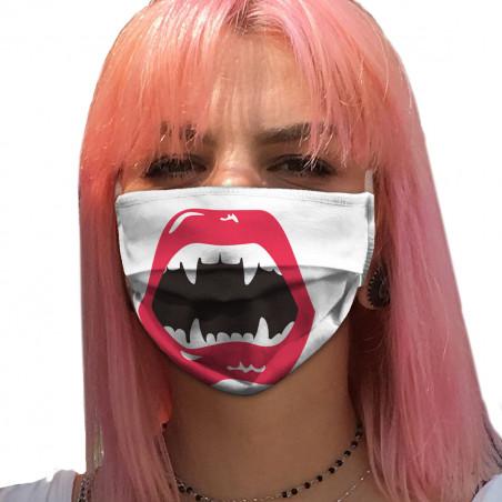 """Masque en tissu """"Vampire"""""""