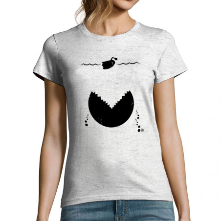 "T-shirt femme ""Les dents de..."