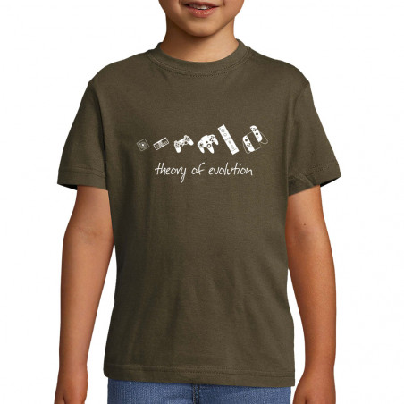 "Tee-shirt enfant ""Theory of..."