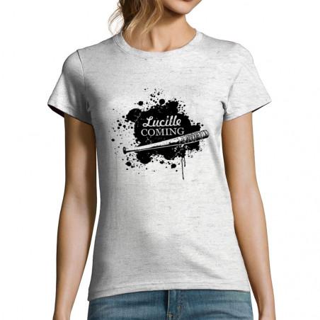 """T-shirt femme """"Lucille is..."""