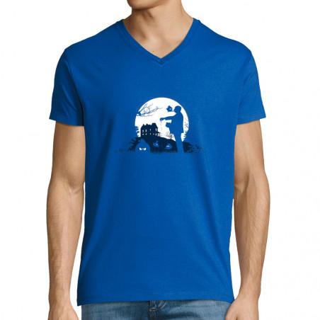 "T-shirt homme col V ""Hitch..."