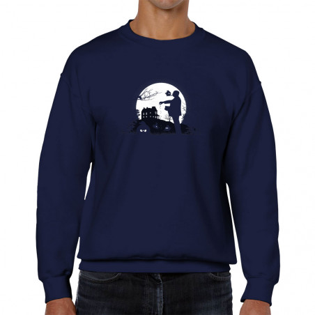 """Sweat homme col rond """"Hitch..."""