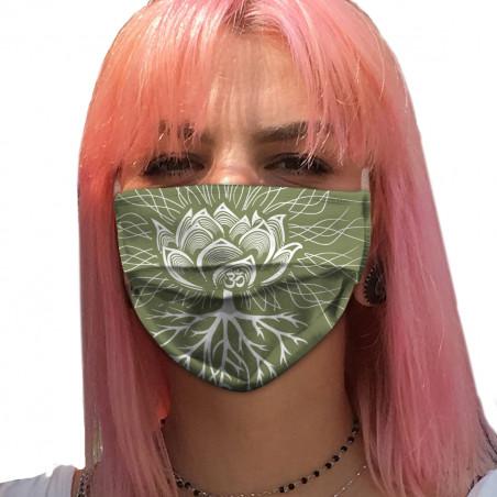 """Masque en tissu """"Ohm Pagan"""""""