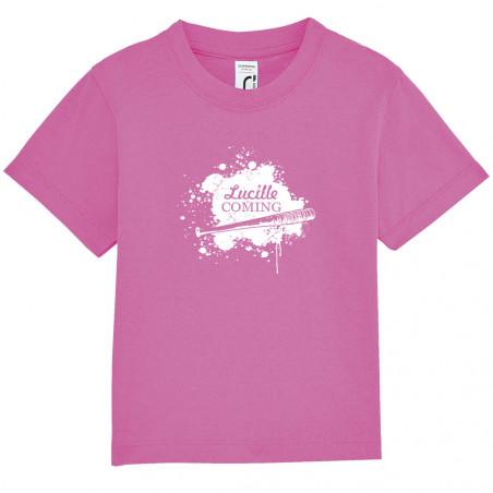 """Tee-shirt bébé """"Lucille is..."""