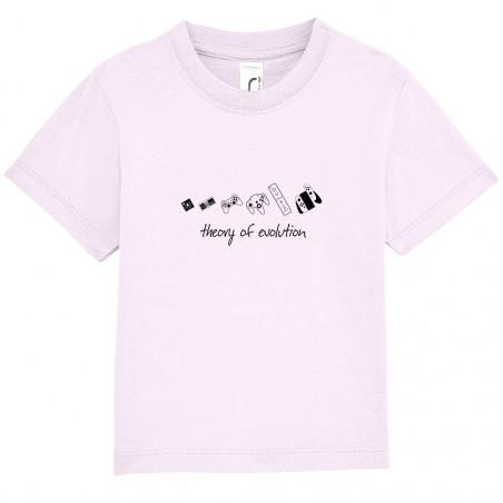 """Tee-shirt bébé """"Theory of..."""